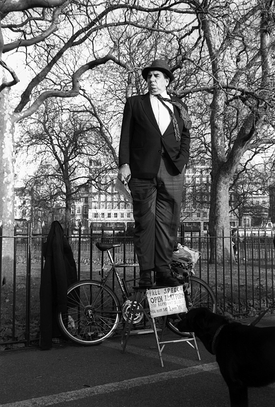 Speakers Corner London  © Nick Chaldakov ' 1991
